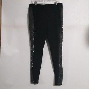Nordstrom black leggings with sequins